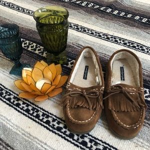 AEO moccasins only worn once.
